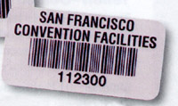 Craftmark Polyester Barcode Label