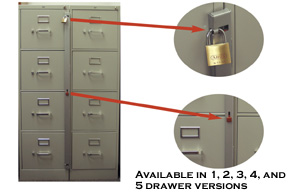 File Cabinet Locks - ComputerSecurity.com