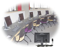 multiple computers secured with PC Tab Alarm system
