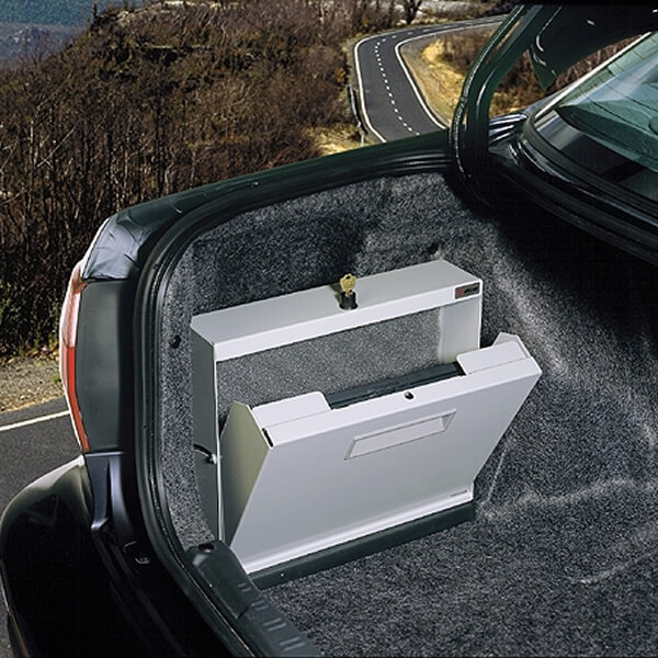 The Laptop Locker Laptop Security Compartment