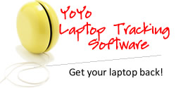 YoYo Laptop Tracking Software